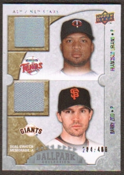 2009 Upper Deck Ballpark Collection #120 Francisco Liriano Barry Zito /400