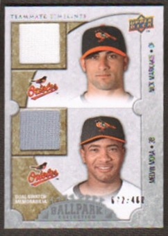 2009 Upper Deck Ballpark Collection #178 Melvin Mora Nick Markakis /400