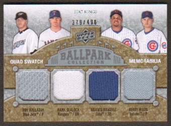 2009 Upper Deck Ballpark Collection #293 Kerry Wood Roy Halladay Hank Blalock Aramis Ramirez /400