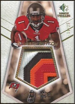 2008 Upper Deck SP Rookie Threads Rookie Super Swatch Gold Patch #RSSDX Dexter Jackson /25