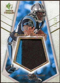 2008 Upper Deck SP Rookie Threads Rookie Super Swatch Gold Patch #RSSJS Jonathan Stewart /25