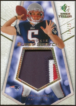 2008 Upper Deck SP Rookie Threads Rookie Super Swatch Gold Patch #RSSKO Kevin O'Connell /25