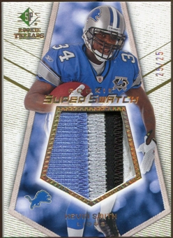 2008 Upper Deck SP Rookie Threads Rookie Super Swatch Gold Patch #RSSKS Kevin Smith /25