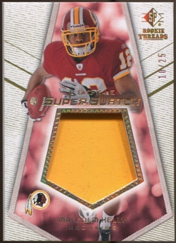2008 Upper Deck SP Rookie Threads Rookie Super Swatch Gold Patch #RSSMK Malcolm Kelly /25