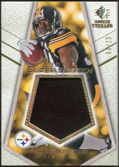 2008 Upper Deck SP Rookie Threads Rookie Super Swatch Gold Patch #RSSRM Rashard Mendenhall /25