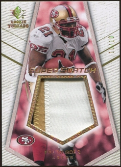 2008 Upper Deck SP Rookie Threads Super Swatch Patch 10 #SSFG Frank Gore /10