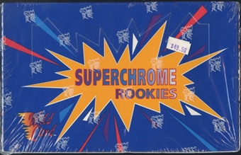 1993 Wild Card Superchrome Rookies Football Hobby Box