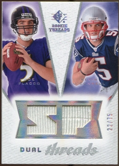 2008 Upper Deck SP Rookie Threads Dual Threads #DTFO Joe Flacco Kevin O'Connell /75