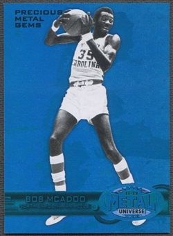 2011/12 Fleer Retro #15 Bob McAdoo Precious Metal Gems Blue #28/50