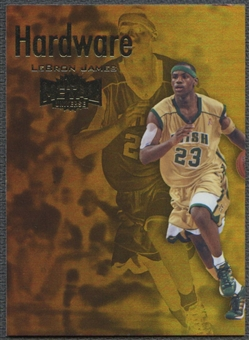2011/12 Fleer Retro #2 LeBron James Metal Championship Hardware