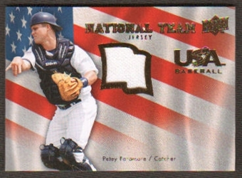 2008 Upper Deck USA National Team Jerseys #PP Petey Paramore
