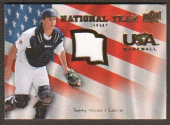 2008 Upper Deck USA National Team Jerseys #TM Tommy Medica