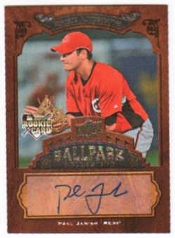 2008 Upper Deck Ballpark Collection #146 Paul Janish Autograph
