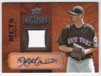 2008 Upper Deck Ballpark Collection Jersey Autographs #86 John Maine Autograph