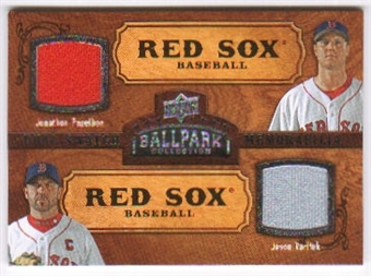 2008 Upper Deck Ballpark Collection #155 Jonathan Papelbon Jason Varitek