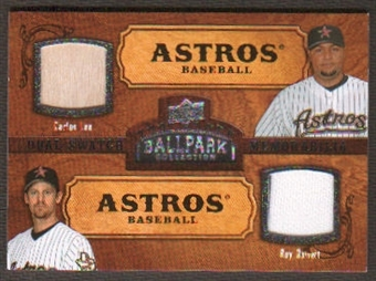 2008 Upper Deck Ballpark Collection #158 Carlos Lee Roy Oswalt