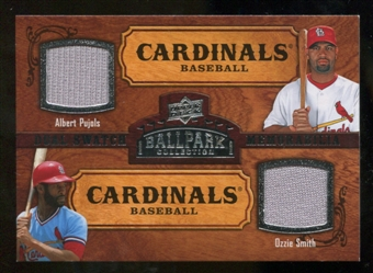 2008 Upper Deck Ballpark Collection #160 Albert Pujols Ozzie Smith