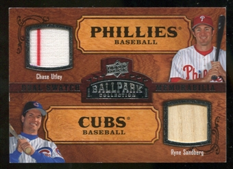 2008 Upper Deck Ballpark Collection #167 Chase Utley Ryne Sandberg