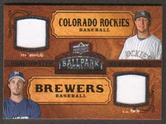 2008 Upper Deck Ballpark Collection #173 Troy Tulowitzki J.J. Hardy