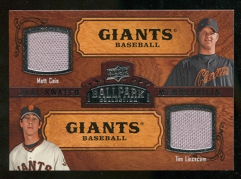 2008 Upper Deck Ballpark Collection #174 Matt Cain Tim Lincecum