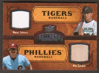 2008 Upper Deck Ballpark Collection #179 Miguel Cabrera Mike Schmidt