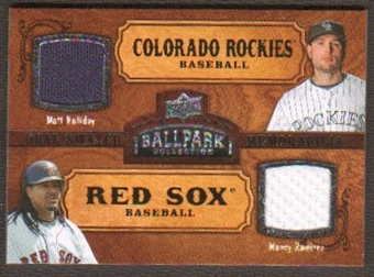 2008 Upper Deck Ballpark Collection #182 Matt Holliday Manny Ramirez