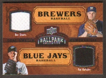 2008 Upper Deck Ballpark Collection #185 Ben Sheets Roy Halladay