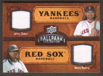 2008 Upper Deck Ballpark Collection #187 Johnny Damon Manny Ramirez