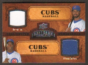 2008 Upper Deck Ballpark Collection #194 Derrek Lee Alfonso Soriano