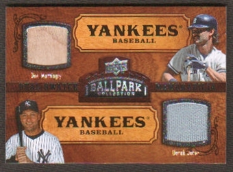 2008 Upper Deck Ballpark Collection #199 Don Mattingly Derek Jeter