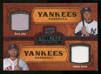 2008 Upper Deck Ballpark Collection #200 Derek Jeter Johnny Damon