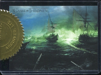 2013 Rittenhouse Game of Thrones Season Two Battle of Blackwater Case Toppers #CT1 Battle of Blackwater