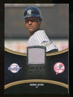 2008 Upper Deck Sweet Spot Swatches #SDJ Derek Jeter