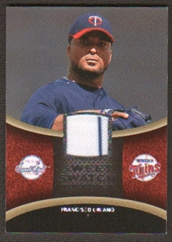 2008 Upper Deck Sweet Spot Swatches #SFL Francisco Liriano