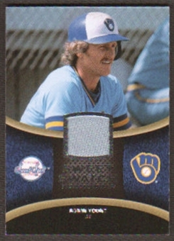 2008 Upper Deck Sweet Spot Swatches #SRY Robin Yount