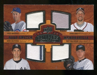2008 Upper Deck Ballpark Collection #217 Greg Maddux John Smoltz Mike Mussina Roy Halladay