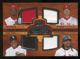 2008 Upper Deck Ballpark Collection #218 Ken Griffey Jr. Jim Thome Frank Thomas Manny Ramirez