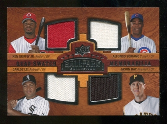 2008 Upper Deck Ballpark Collection #221 Ken Griffey Jr. Alfonso Soriano Carlos Lee Jason Bay