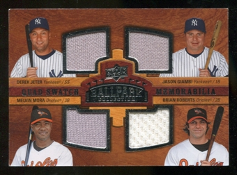 2008 Upper Deck Ballpark Collection #233 Derek Jeter Jason Giambi Melvin Mora Brian Roberts
