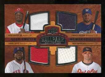 2008 Upper Deck Ballpark Collection #242 Ken Griffey Jr. Prince Fielder David Ortiz Nick Markakis