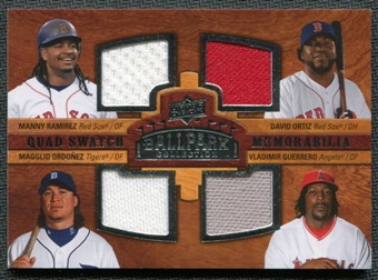 2008 Upper Deck Ballpark Collection #244 Manny Ramirez David Ortiz Magglio Ordonez Vladimir Guerrero