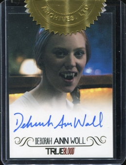 True Blood Archives Deborah Ann Woll (Jessica Hamby) Autograph Card (Rittenhouse 2013)