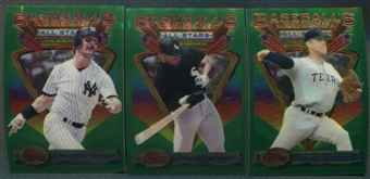 1993 Topps Finest Baseball Partial Set