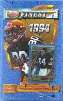 1994 Topps Finest Football Hobby Box