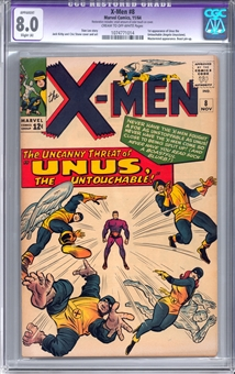 X-Men #8 CGC 8.0 Restored (C-OW) *1074771014*