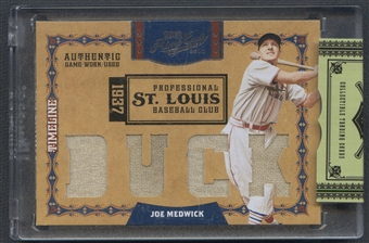 2008 Prime Cuts #31 Joe Medwick Timeline Materials Custom Nicknames Jersey #18/25
