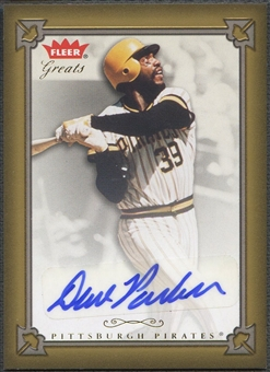 2004 Greats of the Game #DP Dave Parker Auto