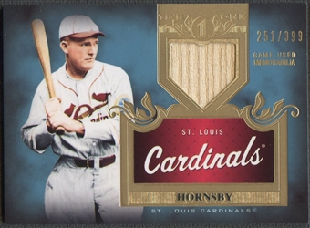 2011 Topps Tier One #TSR7 Rogers Hornsby Top Shelf Relics Bat #251/399