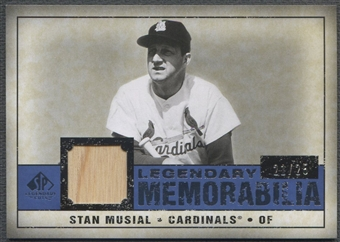 2008 SP Legendary Cuts #SM Stan Musial Legendary Memorabilia Bat #21/25