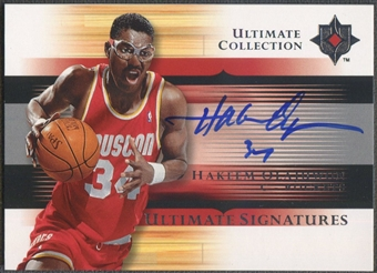 2005/06 Ultimate Collection #USHO Hakeem Olajuwon Signatures Auto
